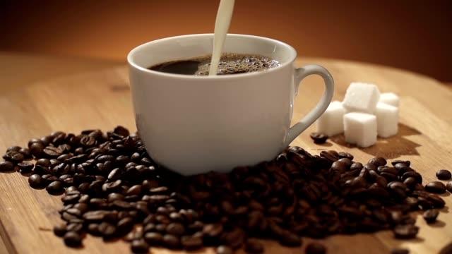 Kaffee und Milch