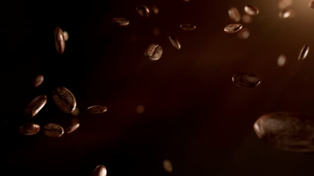 HD: Coffee beans flight