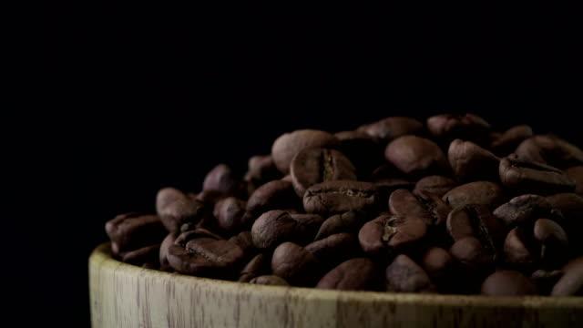 4K koffiebonen draaien
