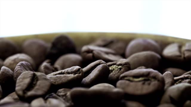Koffiebonen van 4K