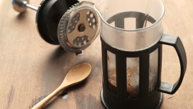 Coffee Drink from French Press