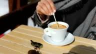 Koffie in de winter