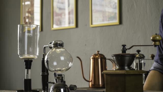 Coffee shop vintage style