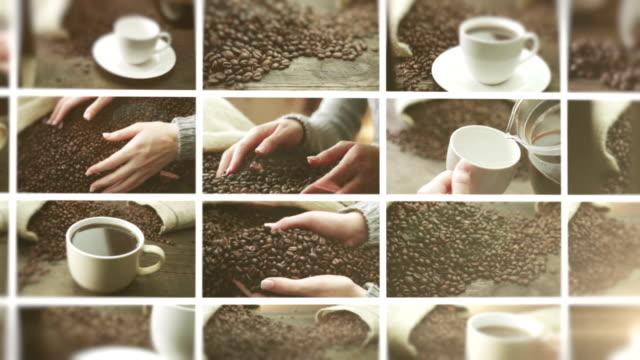 Coffee. Video Wall.