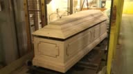 Coffin makers in France are weathering the economic storm better than some VOICED The coffin industry weathers the economic on October 30 2012 in...