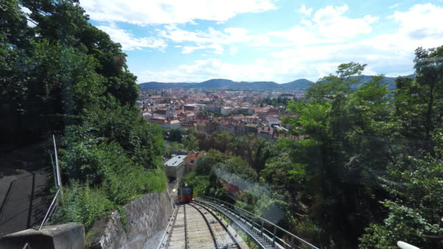 Cog Wheel Train up Schlossberg