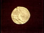 London Sothebys CU Coin The George Noble Henry VIII CU Coin turned over MS Auction ZOOM SOF quotSold at £13000 Baldwinquot ITN 40secs Archive Tape...