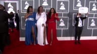 Coko Tamara JohnsonGeorge and Leanne 'Lelee' Lyons at The 55th Annual GRAMMY Awards Arrivals in Los Angeles CA on 2/10/13