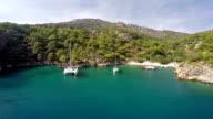 Cold water bay from Oludeniz