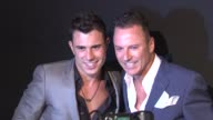 Colin Cowie and guest at the A Night Of Style Glamour To Welcome Newlyweds Kim Kardashian And Kris Humphries Arrivals at New York NY