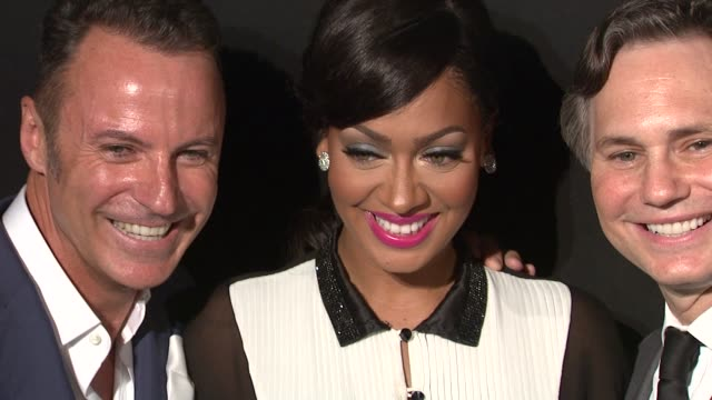Colin Cowie La La Anthony and Jason Binn at the A Night Of Style Glamour To Welcome Newlyweds Kim Kardashian And Kris Humphries Arrivals at New York...