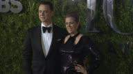 Colin Hanks and Rita Wilson at 2015 Tony Awards Arrivals at Radio City Music Hall on June 07 2015 in New York City