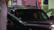 Colin Hanks and Samantha Bryant depart from LA KingsNY Rangers Game 2 at Staples Center on June 07 2014 in Los Angeles California