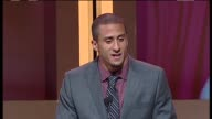 SPEECH Colin Kaepernick on the charity at 28th Anniversary Sports Spectacular Benefiting CedarsSinai Medical Genetics Institute on 5/19/13 in Los...