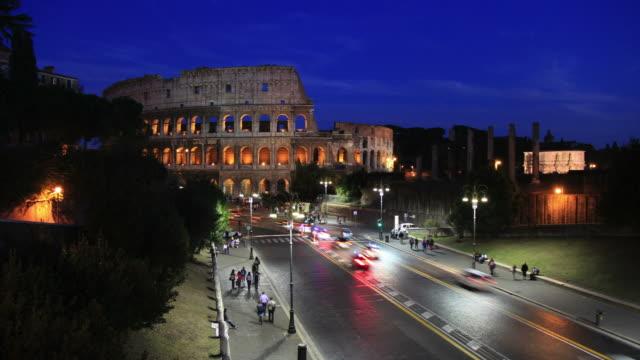 Coliseum Time lapse HD