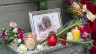 Colleagues and friends and of slain Russian journalist Anna Politkovskaya gather at the office of her paper Novaya Gazeta exactly 10 years after the...