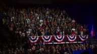 Collection of crowd shots at Barack Obama's farewell speech as President of the United States