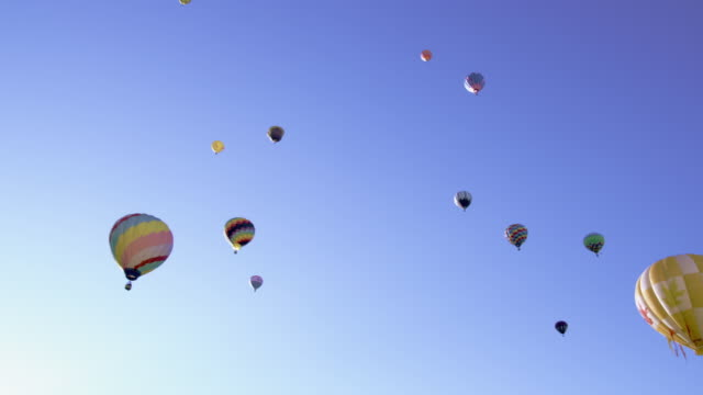 Collection of hot air balloons.