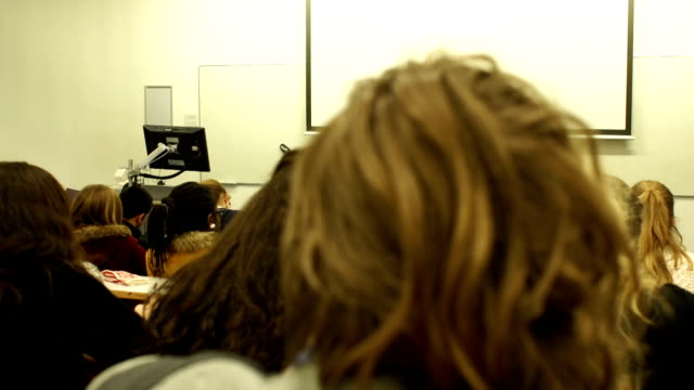 DOLLY HD - College Lecturer / Teacher addressing University Students