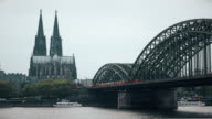 Cologne Dome Cathedral City view
