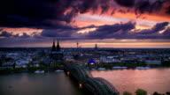 ZEITRAFFER: Köln, Deutschland
