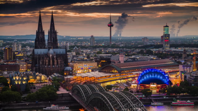 Cologne Skyline with Cathedral - Germany