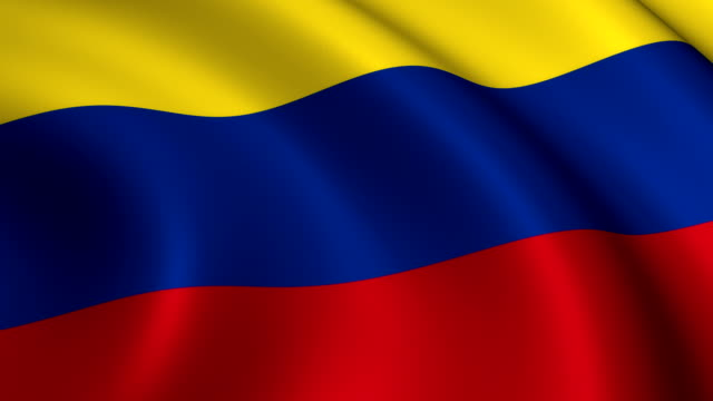 Colombia Flag Loopable