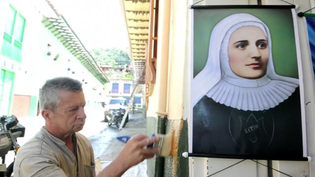 Colombian Catholics will live a historic moment Sunday when Pope Francis canonizes their first saint Mother Laura along with Mexicos second saint...