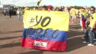 Colombian fans celebrated another superb performance by playmaker James Rodriguez who helped secure Colombias 21 win over Ivory Coast in their World...