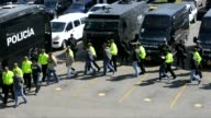 Colombian police have arrested 34 suspected drug traffickers sought by the United States the largest mass arrest for extradition in the history of...