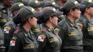 Colombian police trains 120 police officers from ten Central and South America countries to share their expertise in areas such as antinarcotics and...