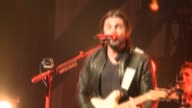 Colombian singer Juanes performs at the Royal Theatre in Madrid