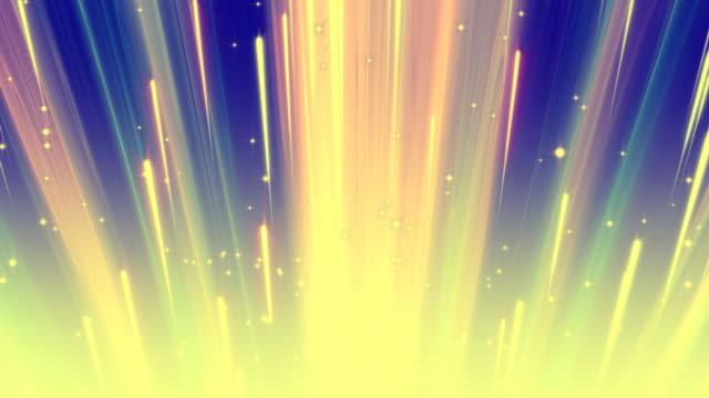 Color Light Streaks Background Loop