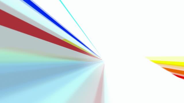 Farbige und Loopabled Rainbow Lines als Hintergrund.