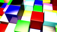 Colored Cubes Up and Down