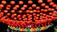 Colorful Chinese Lantern.