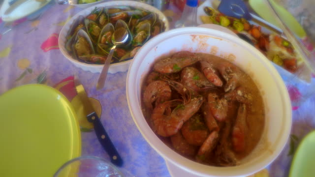 Colorful Cuisine - Seafood For Lunch