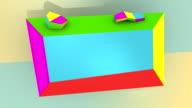 Montature colorate per Copyspace (3 Versioni)