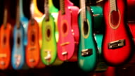 colorful guitars