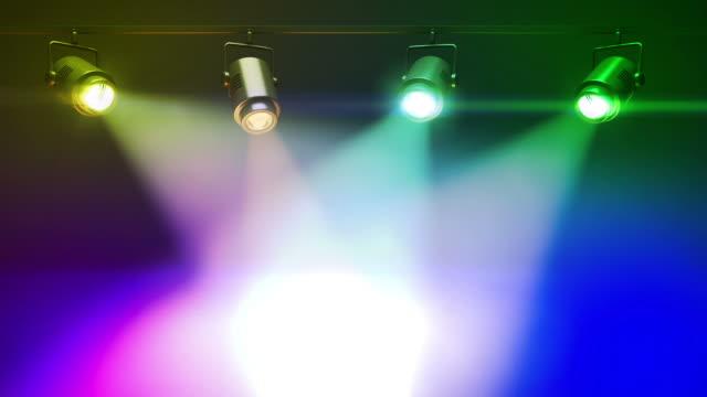 Colorful Spot Lights