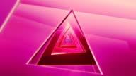 A triangolo colorato tunnel