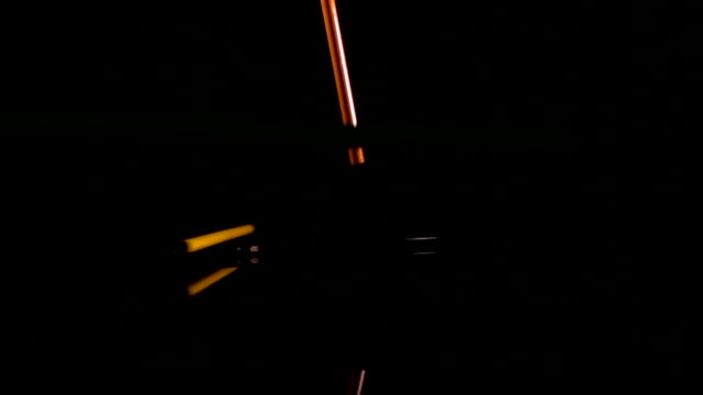 colour pencil drop in Slow motion