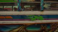 Colourful Bus in Portobelo Panama