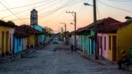 Colourful houses in Trinidad Cuba