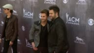 Colton Swon and Zach Swon at the 49th Annual Academy of Country Music Awards Arrivals at MGM Grand Garden Arena on April 06 2014 in Las Vegas Nevada