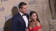 Colton Underwood and Aly Raisman at HBO's Official 2017 Golden Globe Awards After Party Arrivals at The Beverly Hilton Hotel on January 08 2017 in...