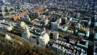 HD AERIAL: Columbia University and West Manhattan