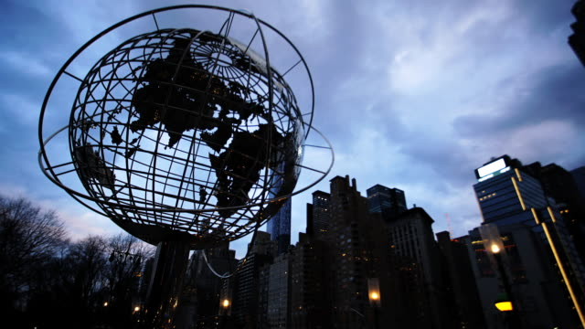 Columbus Circle Time Lapse