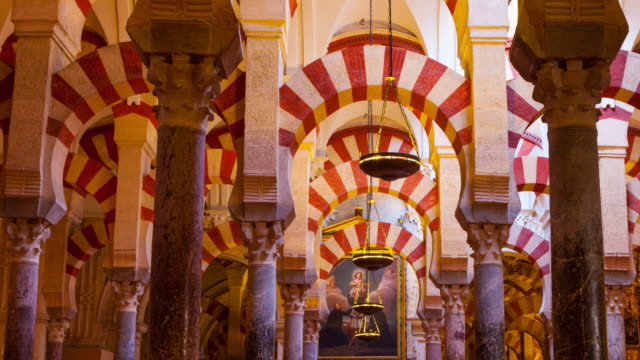 Columns in Great Mosque of Córdoba