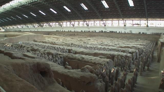WS PAN Columns of Terracotta Warriors / Xi'an, China